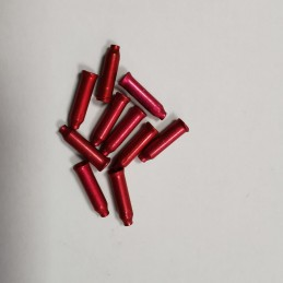 TERMINALES DE CABLE DE 2.4MM, color rojo