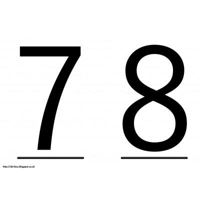 7 y 8 Velocidades